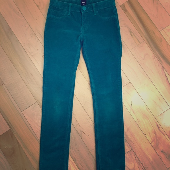 3/$25 Gap Kids green Corduroy pants